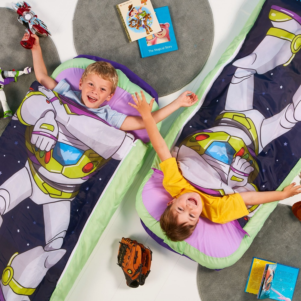 Täispuhutav reisivoodi ReadyBed Junior Toy Story Buzz Lightyear