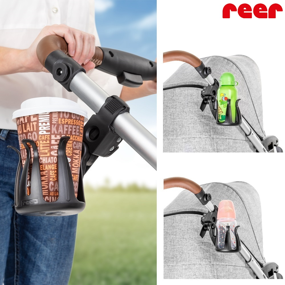 Reer Clip & Go Cup Holder
