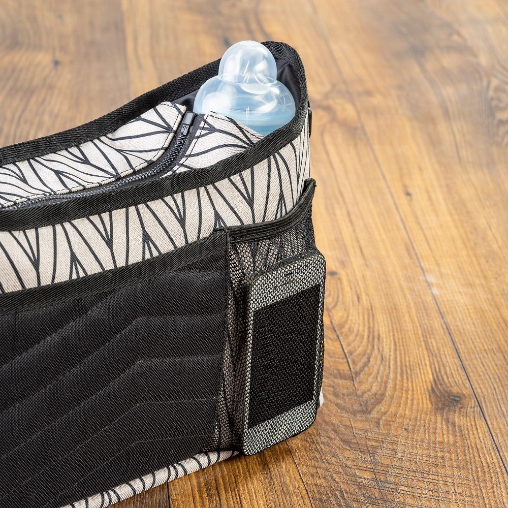 Skötväska till barnvagn Reer Clip and Go Vario