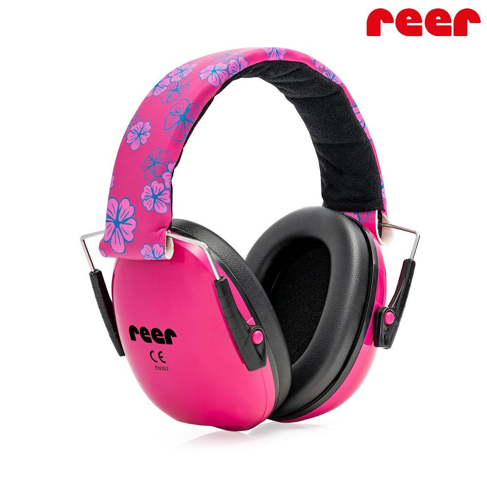 Hörselkåpor barn Reer SilentGuard rosa