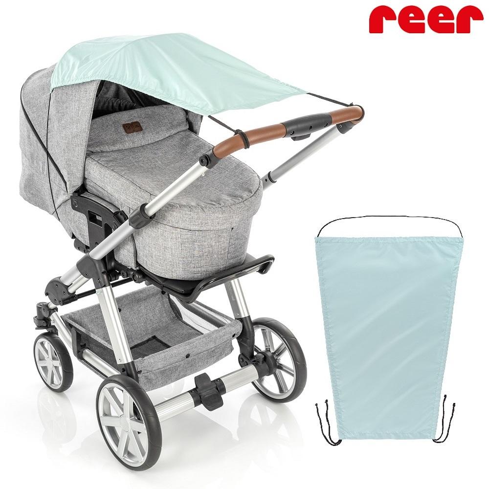 Solskydd barnvagn Reer mint