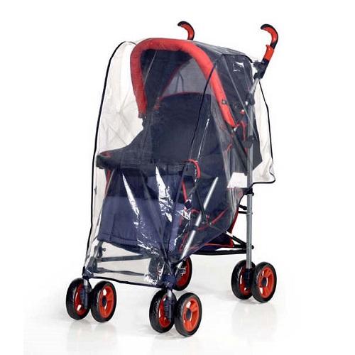 Regnskydd barnvagn Reer Universal genomskinligt