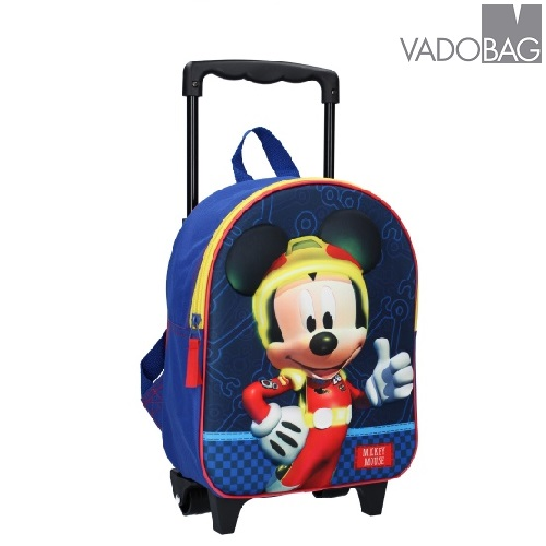 Laste kohver Vadobag Mickey Mouse 3D Believing Sinine