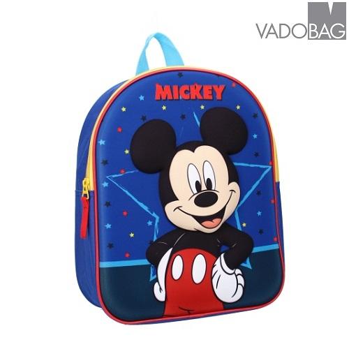Laste seljakott Mickey Mouse Strong Together 3D sinine