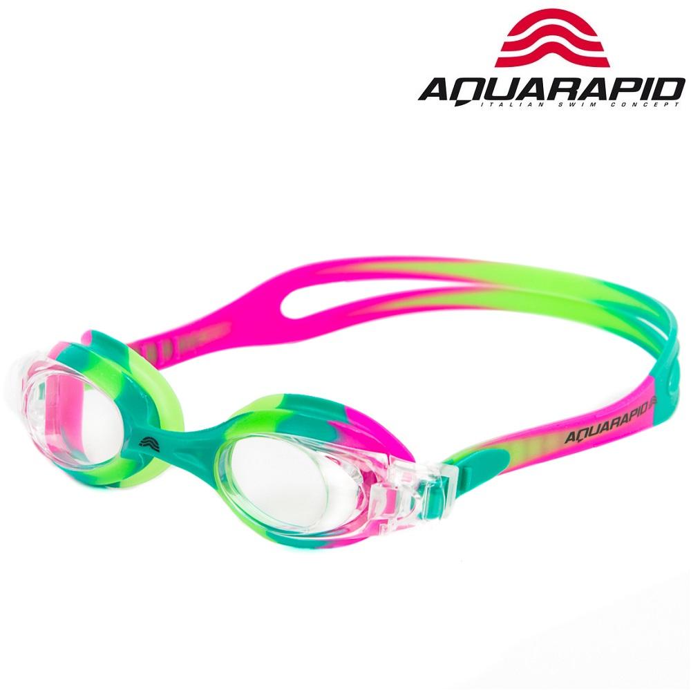 Laste ujumisprillid Aquarapid Multi roosa