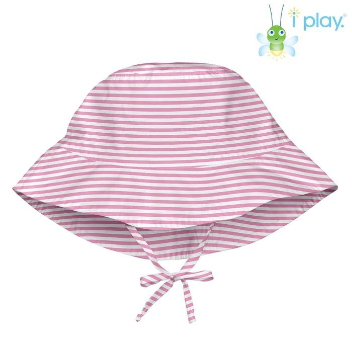 Laste UV-kaitsega päikesemüts Iplay Pink Pinestripe
