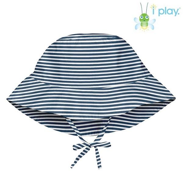 Laste UV-kaitsega päikesemüts Iplay Navy Pinestripe