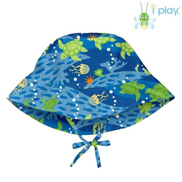 Laste UV-kaitsega päikesemüts Iplay Blue Turtle