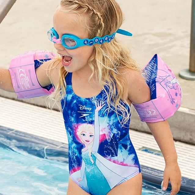 Ujumiskätised Speedo Frozen Roosa