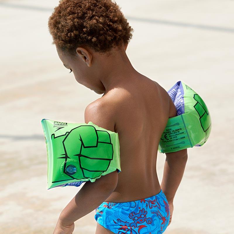 Ujumiskätised Speed Hulk Roheline