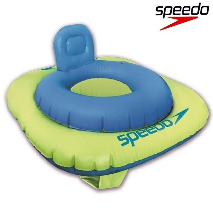 Ujumisrõngas Beebile Speedo Swim Seat Sinine ja Roheline 0-1 a.