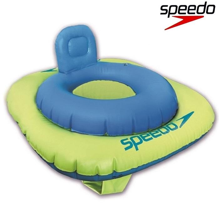 Ujumisrõngas Beebile Speedo Swim Seat Sinine ja Roheline1-2 a.