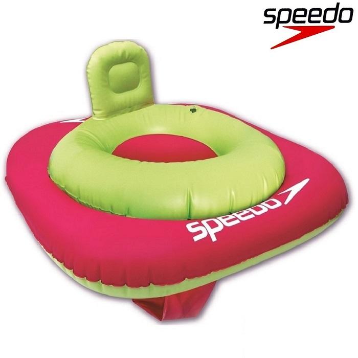Ujumisrõngas Beebile Speedo Swim Seat Roosa ja Roheline 0-1 a.