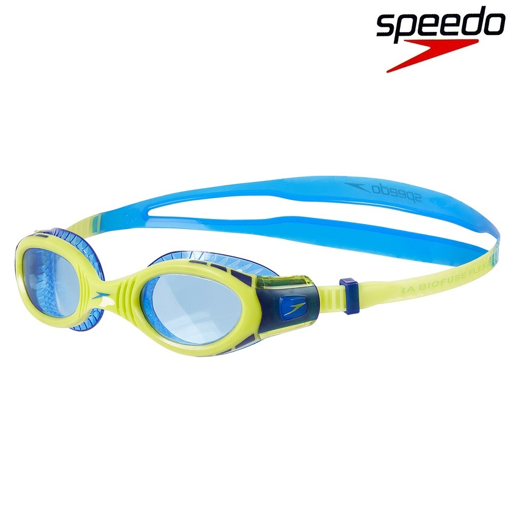 Laste ujumisprillid Speedo Biofuse Junior Yellow and Blue
