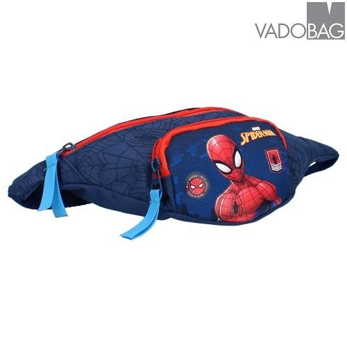 Magväska barn Spiderman blå