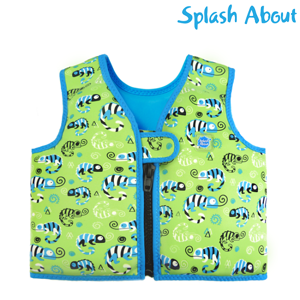 Splashabout Swimvest Green Geko