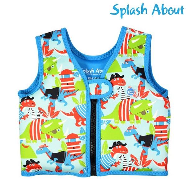 Laste Ujumisvest SplashAbout Go Splash Dino Pirates