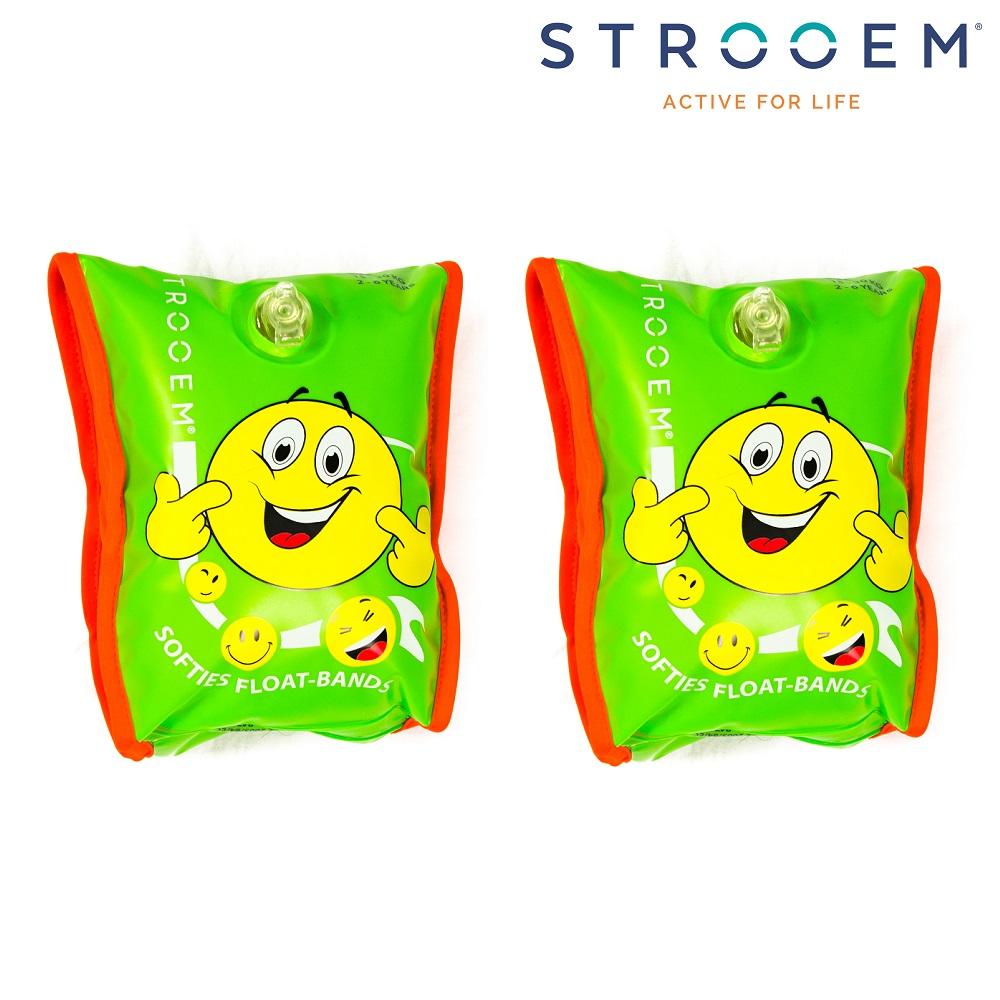 Ujumiskätised Strooem Softies Roheline ja Oranz