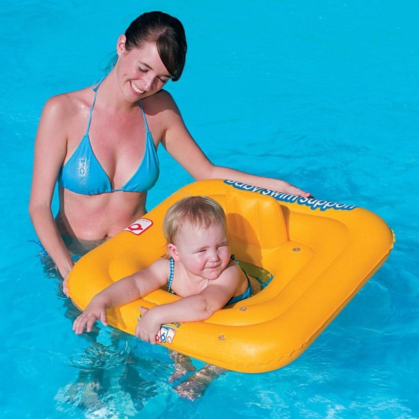 Bestway Beebi Ujumisrõngas - Swim Safe
