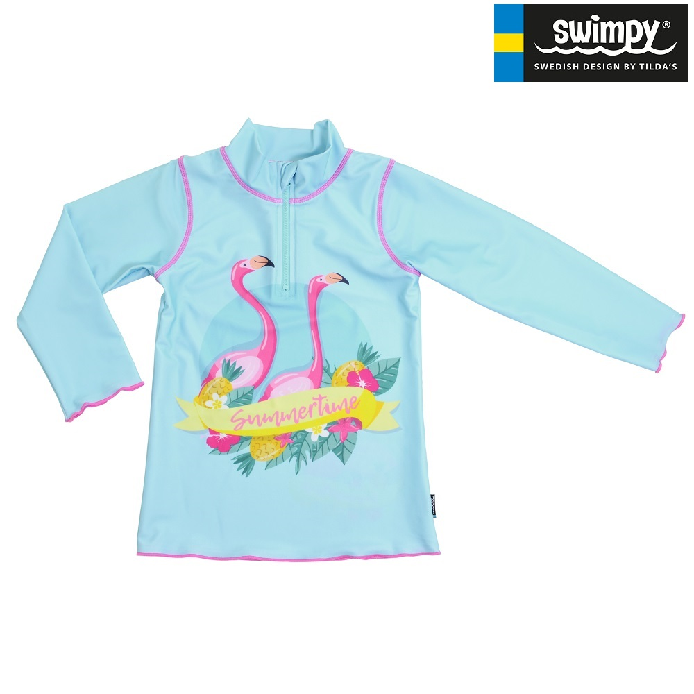 Swimpy UV-kaitsesärk - Flamingo