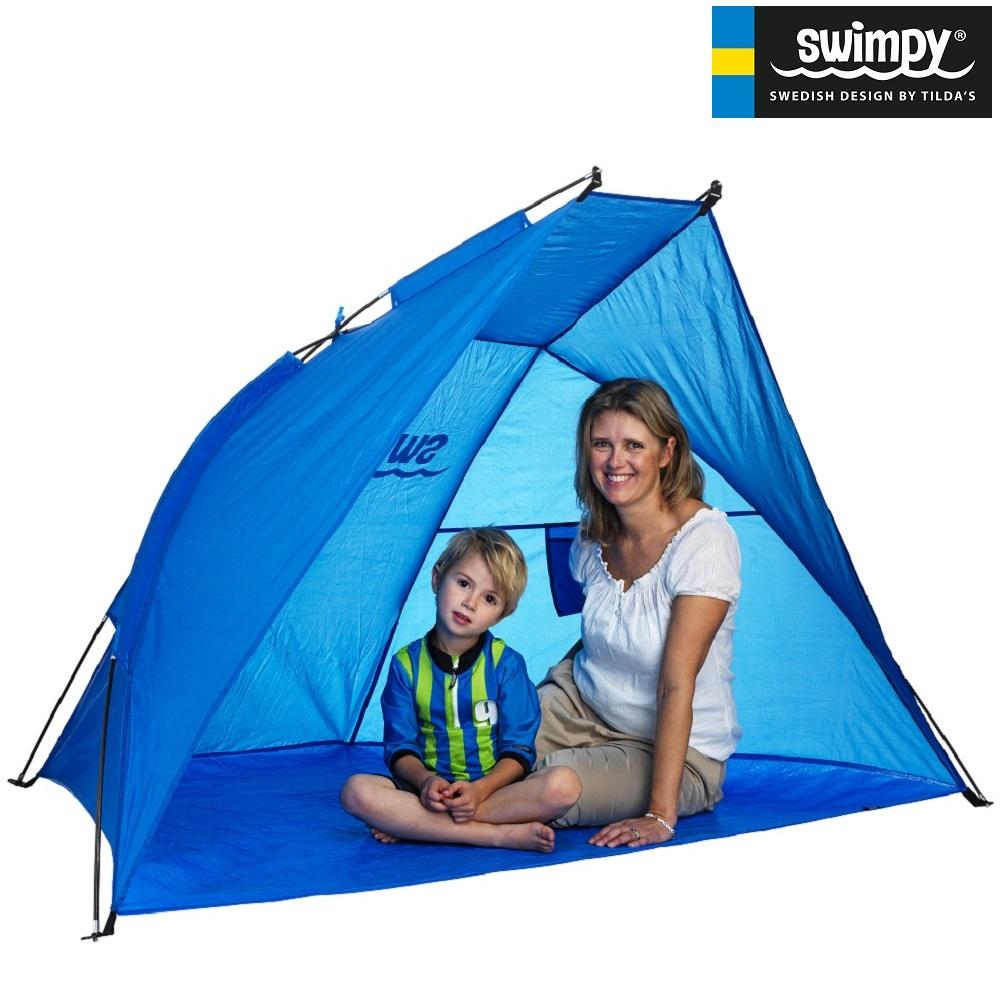 Rannatelk UV-kaitsega Swimpy XL sinine