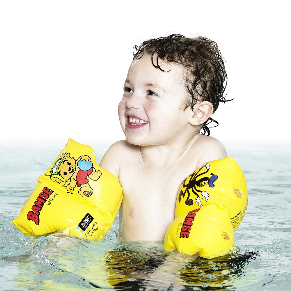 Ujumiskätised Swimpy Bamse 2-6 a.