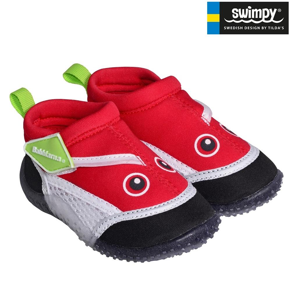 Laste ujumiskingad Swimpy Babblarna Punane