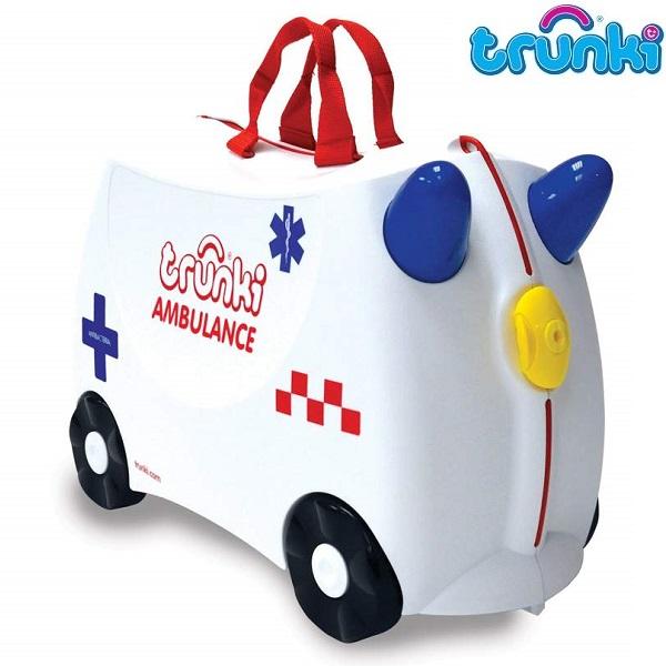 Laste Reisikohver Trunki Abbie Ambulance