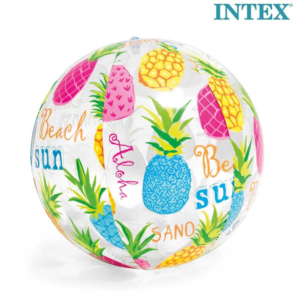 Laste täispuhutav rannapall Intex Pineapple