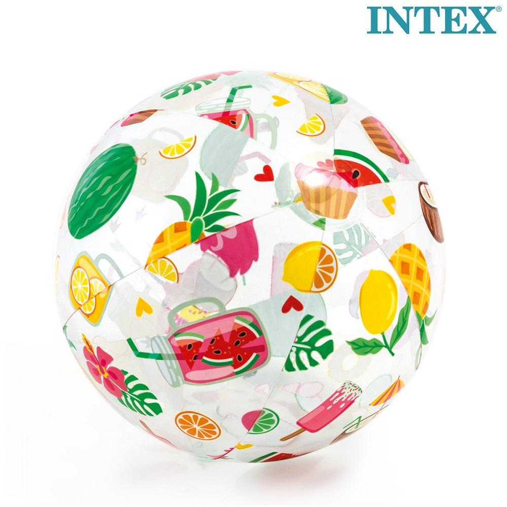 Laste täispuhutav rannapall Intex Tropical Fruit