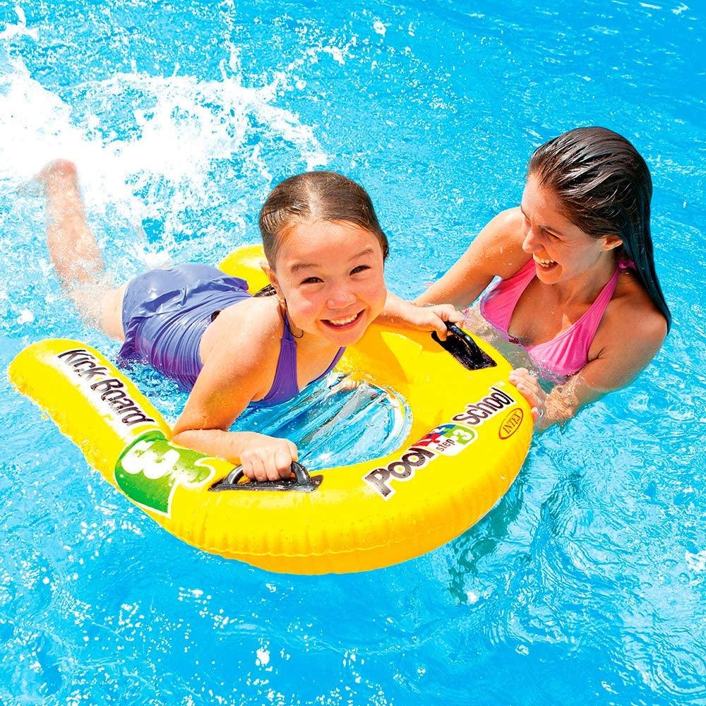 Laste täispuhutav ujumislaud Intex Kickboard