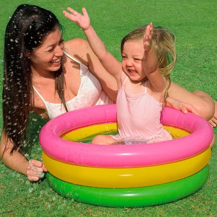 Laste täispuhutav bassein Intex Rainbow