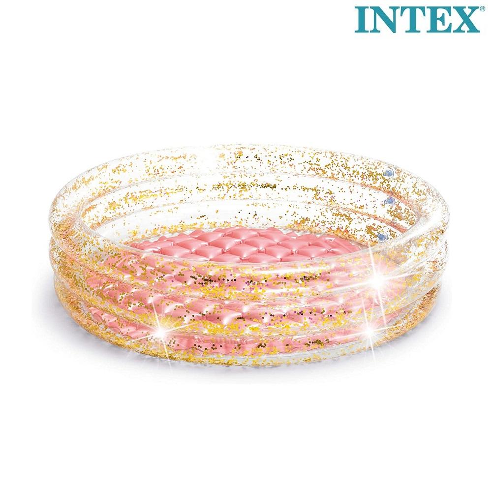 Laste täispuhutav bassein Intex Glitter