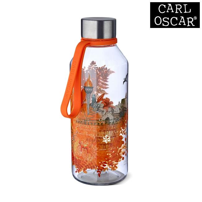 Vattenflaska barn Carl Oscar Wisdom Fire orange