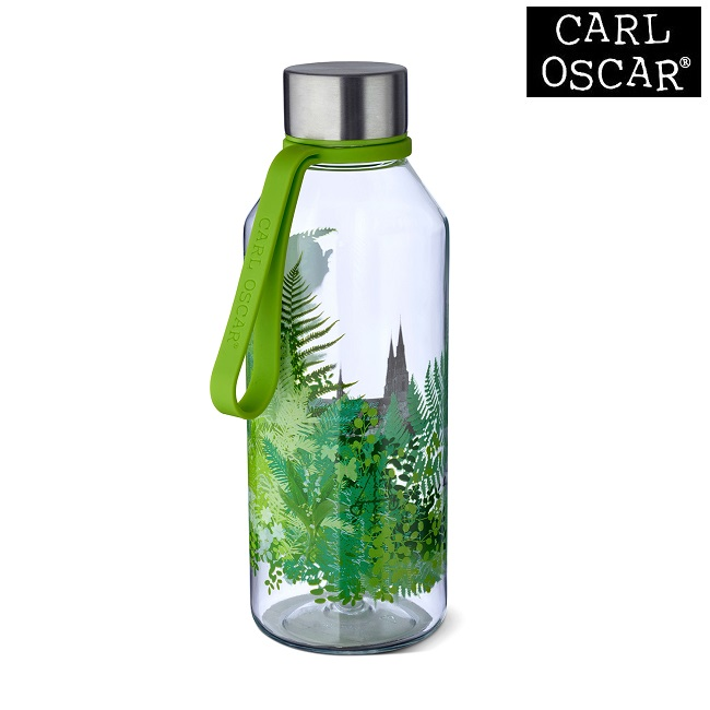 Vattenflaska barn Carl Oscar Wisdom Nature grön