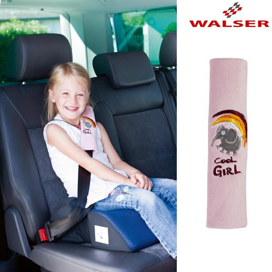 Turvavöö pehmendus Walser Cool Girl Roosa